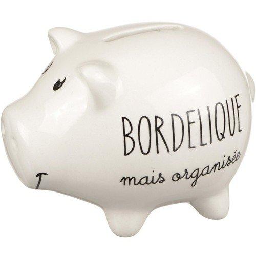 """Копилка-свинка """"Bordélique mais organisée"""" копилка для денег canned money свинка 410039"""