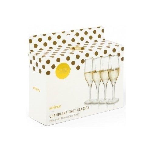 Набор бокалов Champagne Glasses