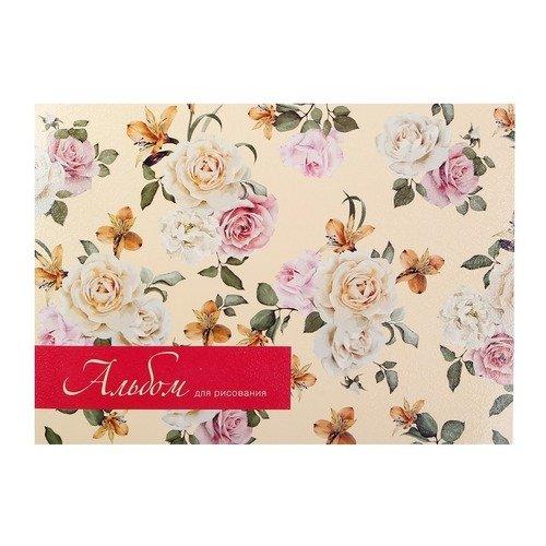 """Альбом для рисования """"Blossom"""", 40 листов, 120 г/м2, 29 х 21 см фото бумага canon pt 101 4 x6 300 г м2 20 листов"""