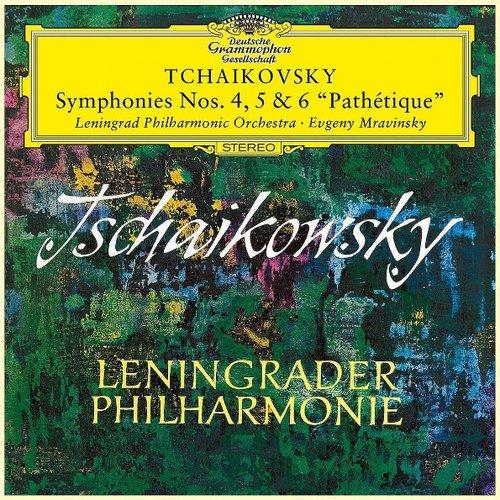 Mravinsky, Evgeny Tchaikovsky - Symphonies Nos.4, 5 & 6 Pathetique государственный академический симфонический оркестр союза сср