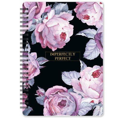 """Тетрадь общая """"Bloom"""", 120 листов, в клетку, 14,4 х 20,4 см, розовая"""
