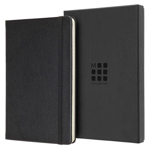 Блокнот Limited Edition Leather Large, 96 листов, в линейку, 13 х 21 см, черный татиана северинова изблокнота памяти