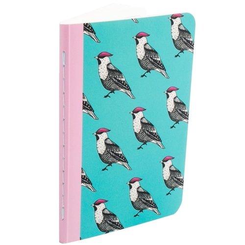 Тетрадь «Птицы-17» А6, 30 листов, в точку