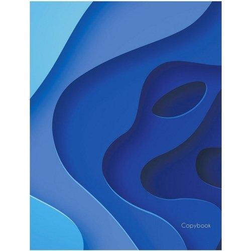 """Тетрадь """"Blue. Дизайн 2"""" А5, 48 листов, в клетку цена в Москве и Питере"""