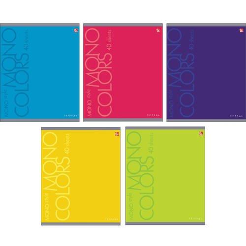 Тетрадь Яркие цвета А5, 12 листов, в линейку, в ассортименте тетрадь в линейку очень опасный предмет литература а5 48 листов в линейку