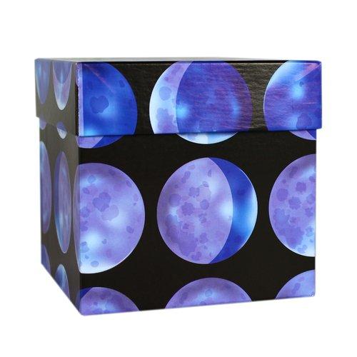 Коробка подарочная Луны, 12,5 х 12,5 х 12,5 см