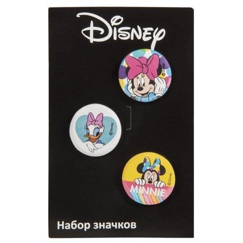 Набор значков Минни 1 дисней disney мультфильм серия пончики 8g творческого диск u прекрасные клубники минни