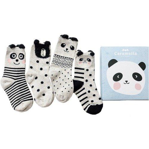 Набор носков «Панда-2», 4 пары набор носков girlfriend 36 39 2 пары