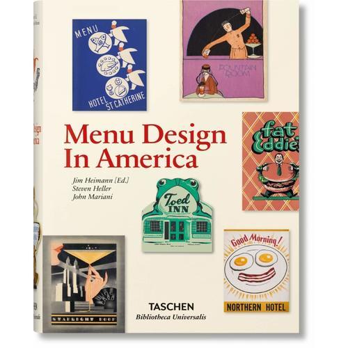 Menu Design in America ghost omnibus volume 5