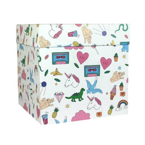 """Коробка подарочная """"Фан"""", 23 х см"""
