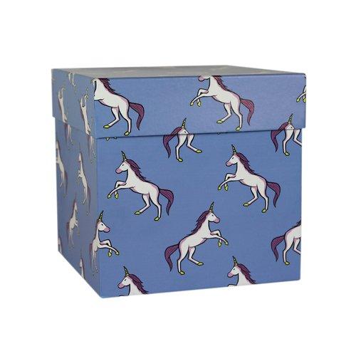 Коробка подарочная Единороги, 16 х 16 х 16 см