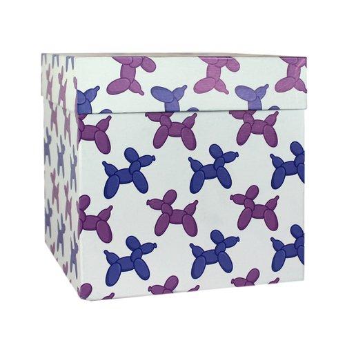 """Коробка подарочная """"Шарики собачки"""", 23 х см"""