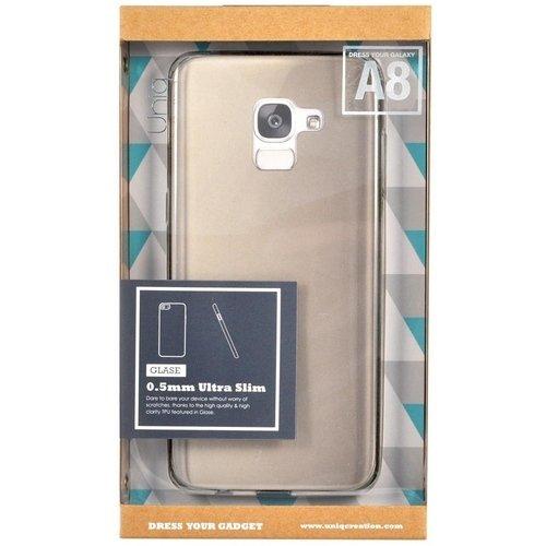 Фото - Чехол для Galaxy A8 Glase Transparent чехол