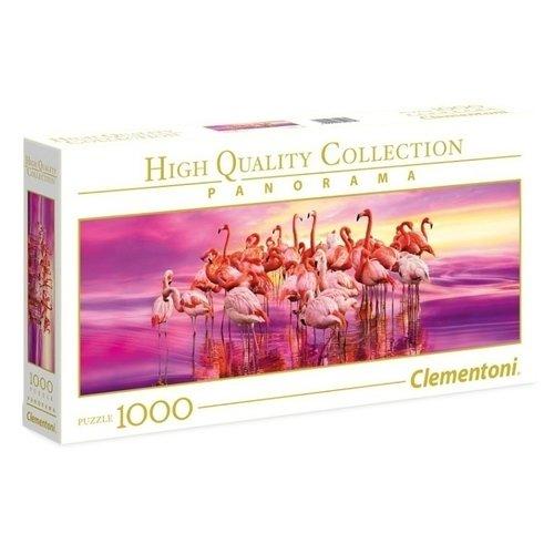 Пазлы Розовый фламинго, 1000 деталей цена