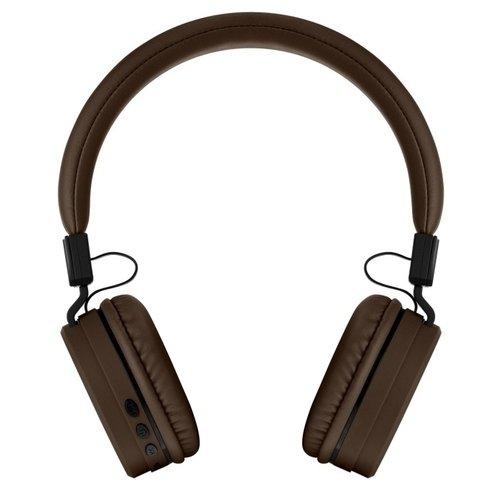 Беспроводные наушники Rombica MySound BH-11, коричневые