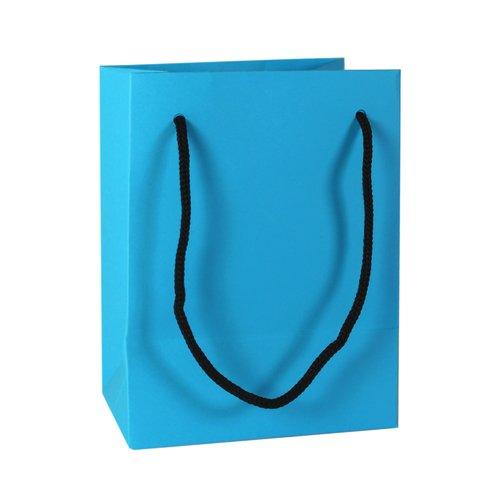 Подарочный пакет, 12 х 16 х 9 см, синий