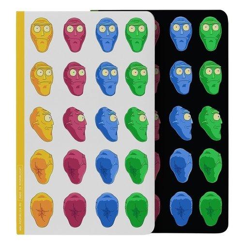 """Блокнот для записей """"Рик и Морти. Голова"""" А6, 28 листов, в точку цены онлайн"""