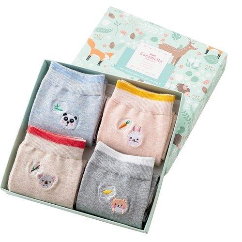 Набор носков «Мысли животных», 4 пары, 34-40 набор носков girlfriend 36 39 2 пары