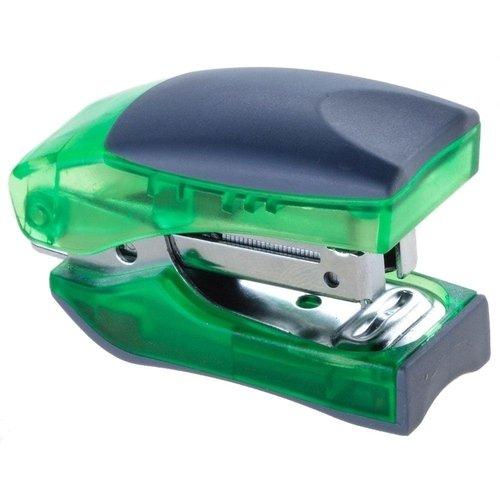 Степлер Stand up Mini № 10, зеленый степлер stand up mini 10 синий
