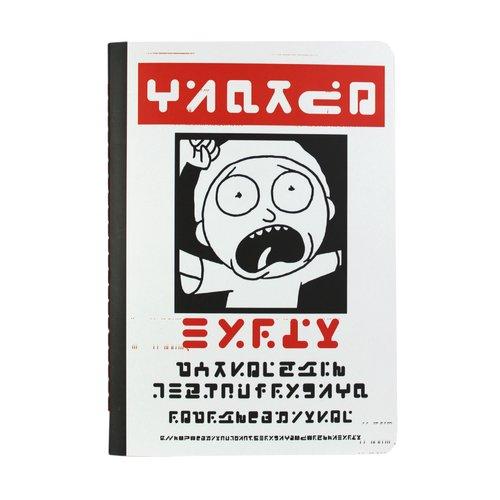 """Тетрадь для записей """"Рик и Морти. Иероглифы"""" А5, 30 листов, в клетку цены онлайн"""