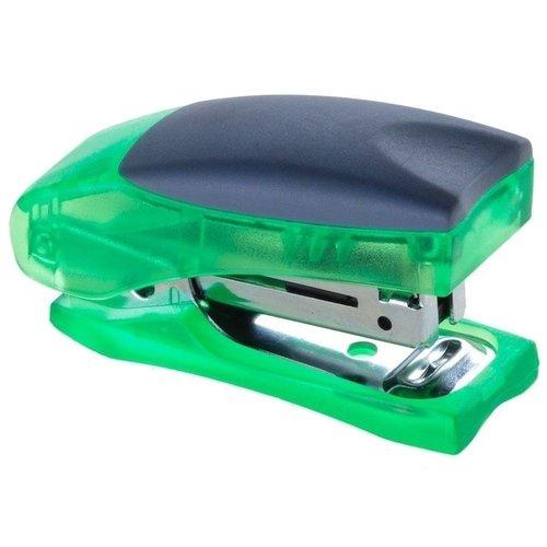 Степлер Stand up Mini № 24/6, зеленый степлер stand up mini 10 синий