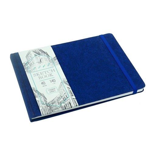 """Скетчбук """"Artclass"""" А5, 40 листов, 140 г/м2, синий"""