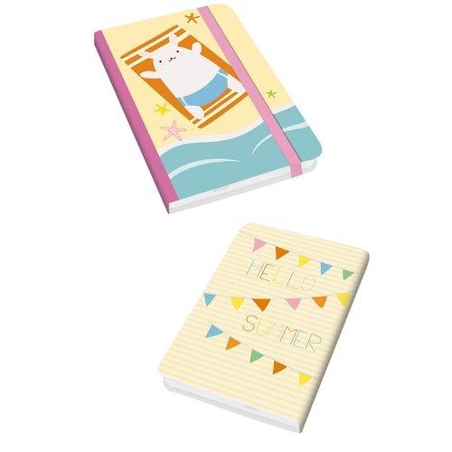 Блокнот для записей Travel Time. Дизайн 3 А6, 96 листов