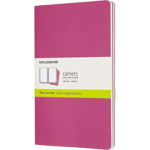 """Блокнот """"Cahier Journal"""" Large, 40 листов, нелинованный, 13 х 21 см, розовый неон"""