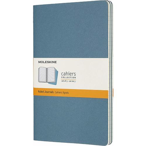 """Блокнот """"Cahier Journal"""" Large, 40 листов, в линейку, 13 х 21 см, голубой"""