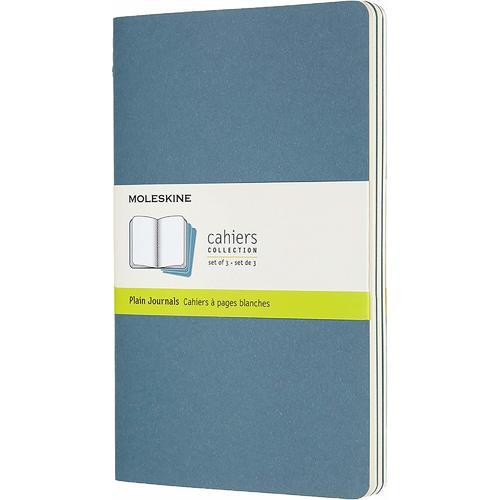 """Блокнот """"Cahier Journal"""" Large, 40 листов, нелинованный, 13 х 21 см, голубой"""