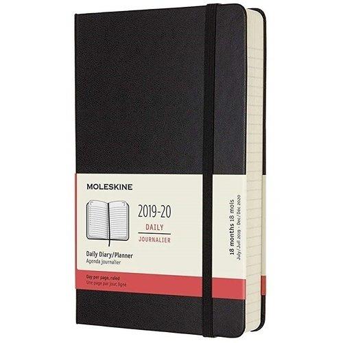 Фото - Ежедневник датированный на 18 месяцев Academic Large, 592 страницы, 13 х 21 см, черный еженедельник датированный на 18 месяцев academic 592 страницы 13 х 21 см красный