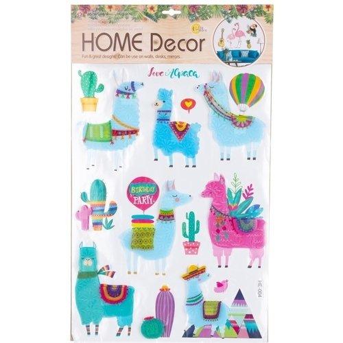 Декоративная интерьерная наклейка Лама 1, 37 х 62 см наклейка декоративная оранжевый слоник коты 45 х 35 см 45dn011rgb