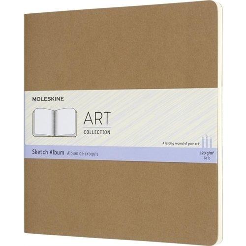 """Блокнот для рисования """"Art Cahier Sketch Album"""", 44 листа, 120 г/м2, 19 x 19 см, бежевый"""