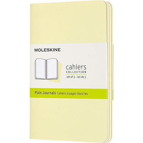 """Блокнот """"Cahier Journal"""" Pocket, 32 листа, 70 г/м2, нелинованный, 9 x 14 см, нежно-желтый"""