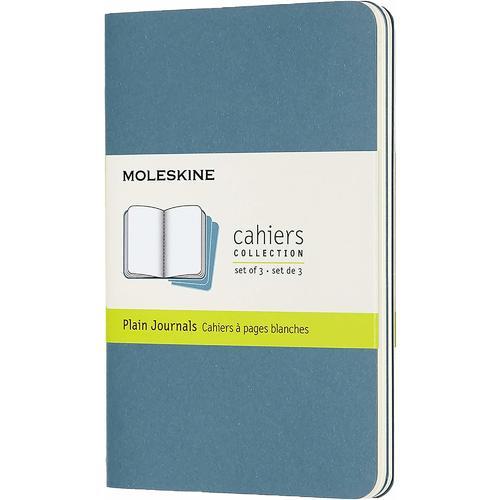 """Блокнот """"Cahier Journal"""" Pocket, 32 листа, 70 г/м2, нелинованный, 9 x 14 см, голубой"""