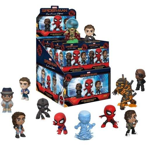 Фигурка Mystery Minis Marvel Spider-Man. Far From Home. 12PC PDQ, в ассортименте брелок funko pocket pop keychain marvel spider man far from home mysterio 39363 pdq