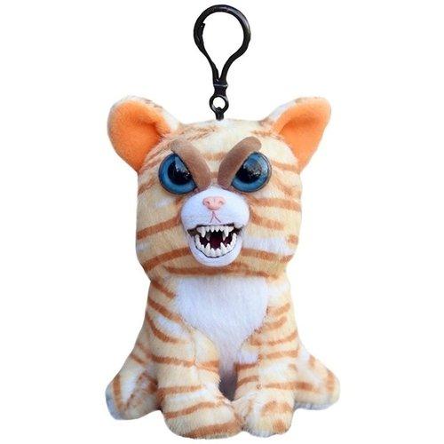 Купить Мягкая игрушка Кошка рыжая , 11 см, с карабином, Goliath, Мягкие игрушки