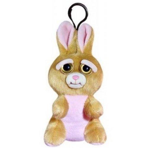 """Мягкая игрушка """"Заяц коричневый"""", 11 см, с карабином"""