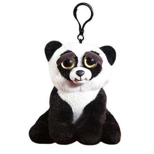 Купить Мягкая игрушка Панда чёрно-белая , 11 см, с карабином, Goliath, Мягкие игрушки