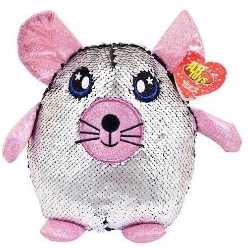 """Мягкая игрушка """"Мышка с пайетками"""", 20 см"""
