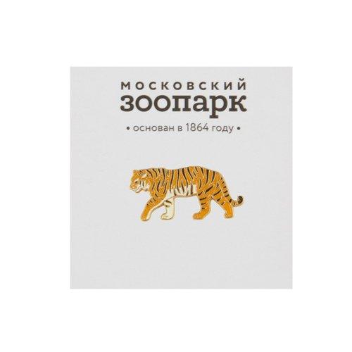 Значок металлический Амурский тигр