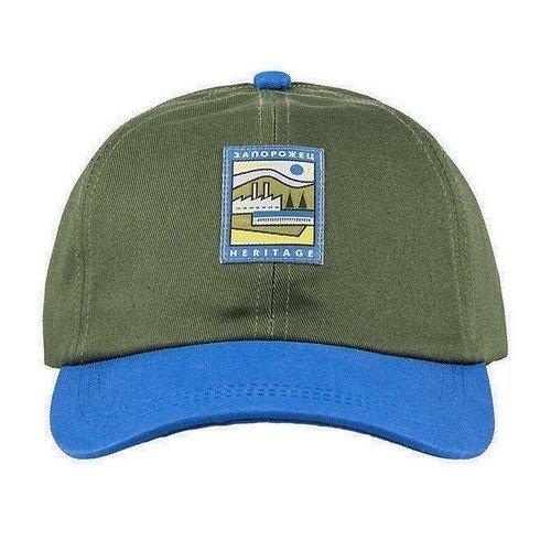 """Бейсболка """"Classic Cap"""", O/S, зеленая / синяя цены онлайн"""