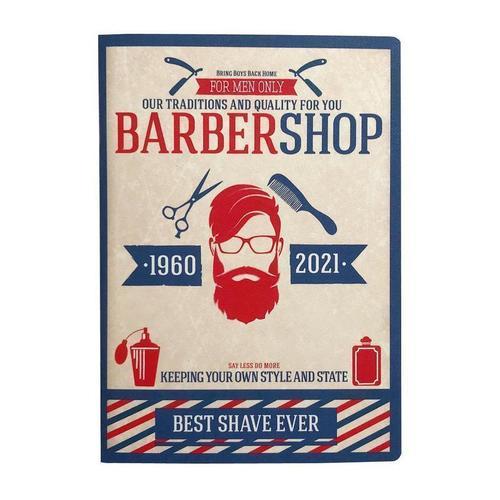 Фото - Тетрадь общая Barbershop, 48 листов, в клетку, 15 х 21 см тетрадь summer 48 листов в клетку 16 5 х 20 3 см