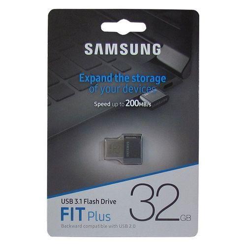 Фото - USB-флэш накопитель FIT Plus, USB 3.1, 32 Gb, черный накопитель ssd samsung 1000gb 970 evo plus mz v7s1t0bw