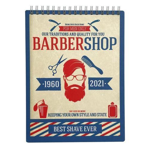 Альбом для рисования Barbershop, 45 листов, 120 г/м2, 15 х 20 см