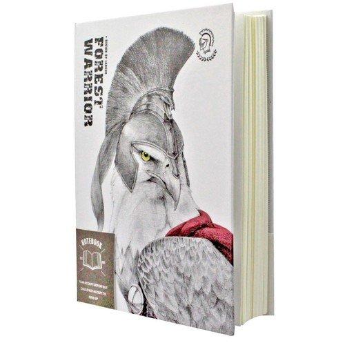 """Записная книжка """"Forest Warrior"""", 96 листов, в линейку, 14,2 х 10,4 см"""