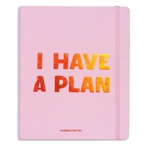 Планер I have a plan, 256 страниц, 17,5 х 22 см, розовый планер my happy plan мятный