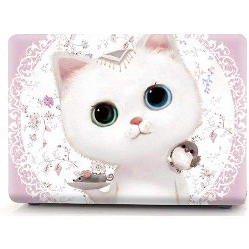 "цена на Чехол-накладка для Macbook Pro13 ""A1706/A1708 Cute Kitten Pink"""