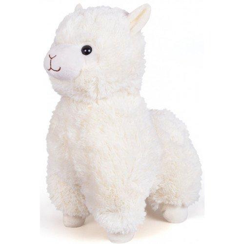 Купить Мягкая игрушка Альпака , 38 см, белая, Dream Makers, Мягкие игрушки