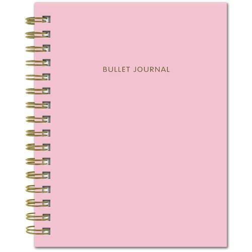 """Блокнот """"Bullet Journal"""", 60 листов, в точку, 16,2 х 21 см, розовый"""